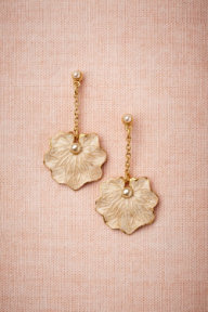 Lilypad Earrings