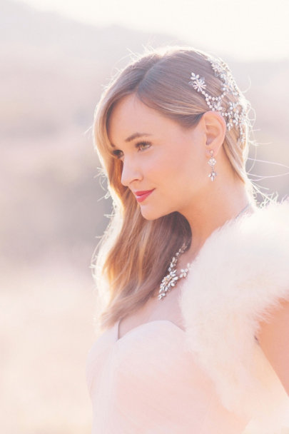 Debra Moreland crystal Levant Earrings | BHLDN