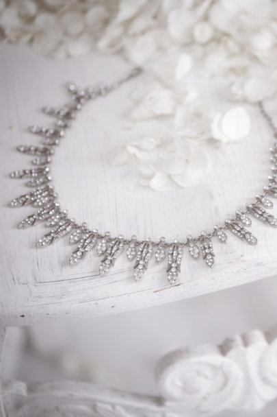 Ben-Amun silver Arabella Necklace | BHLDN