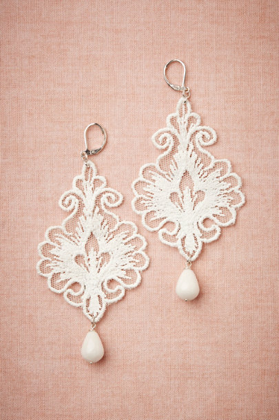 ivory Regalia Earrings | BHLDN
