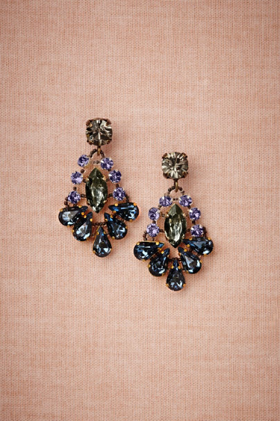 Tataborello blue motif Cirrus Earrings | BHLDN
