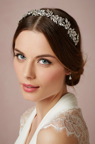 crystal Winter Palace Headband | BHLDN
