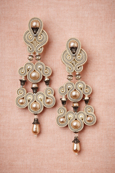 ivory Candelabra Earrings | BHLDN