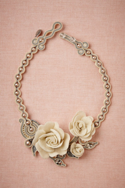Dori Csengeri ivory Rosi Necklace | BHLDN