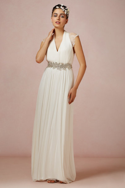Catherine Deane ivory Laverne Gown | BHLDN