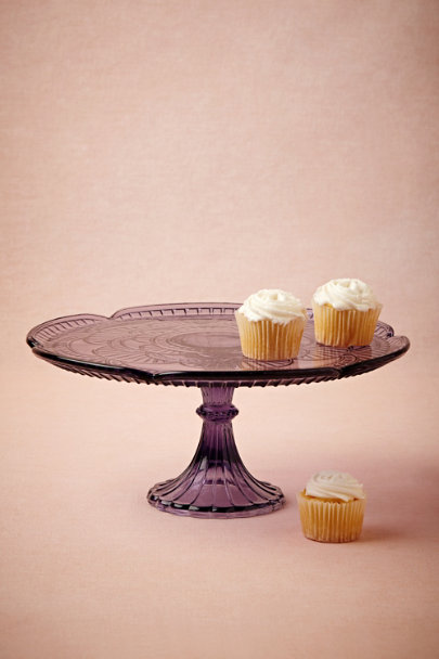 purple Coraline Cake Stand | BHLDN