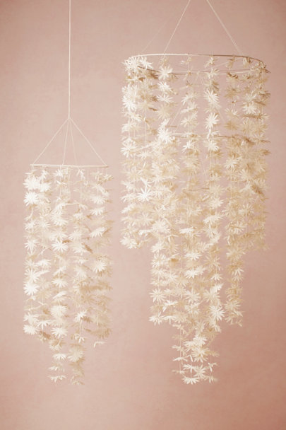 Paper Starflower Chandelier