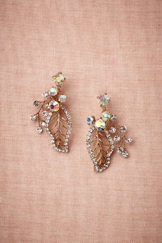 floriculture earrings in sale jewelry at bhldn