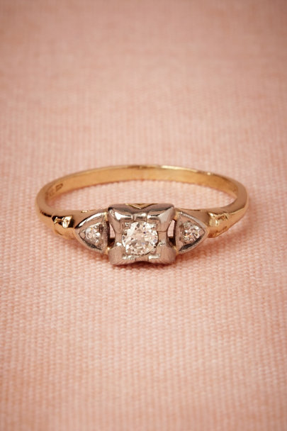 yellow gold Fiske Ring | BHLDN