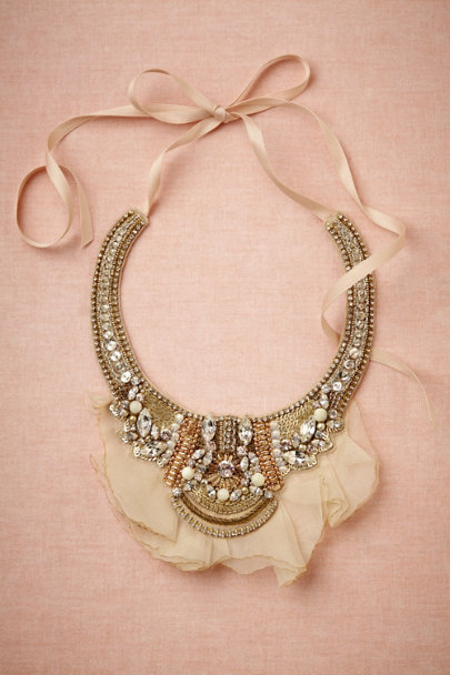 Ranjana Khan crystal Converging Rivers Necklace | BHLDN