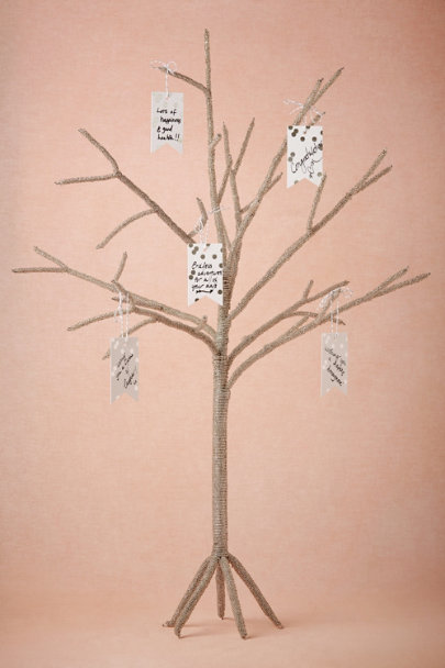 silver Twinkle Wishing Tree | BHLDN