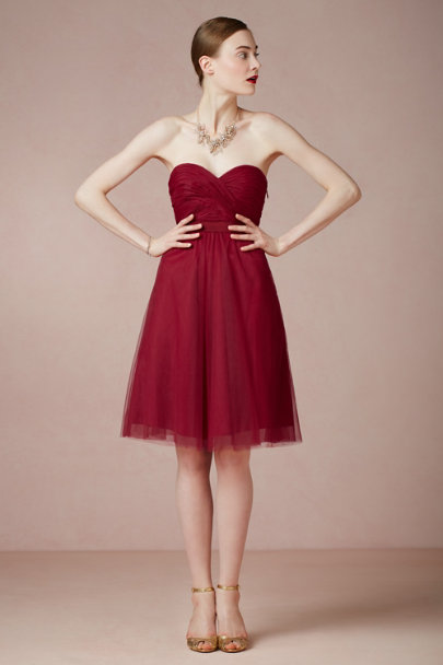 crimson Choreography Dress | BHLDN