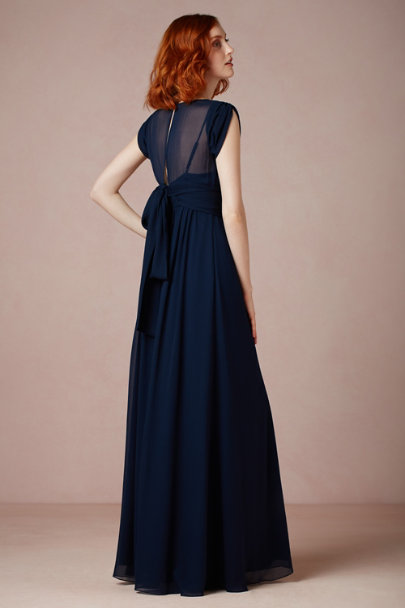 navy Ava Maxi Dress | BHLDN