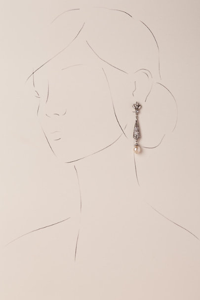 Ben-Amun Pearl Spire Earrings | BHLDN