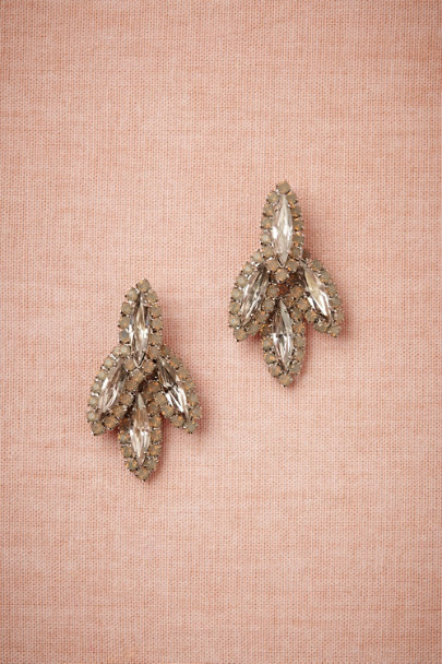 Elizabeth Cole nude Navette Point Earrings | BHLDN