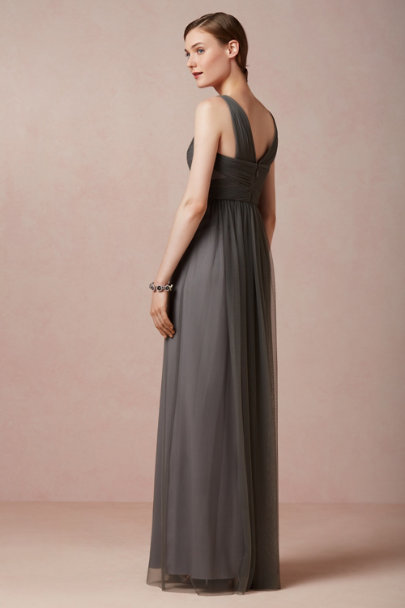 slate grey Esme Maxi Dress | BHLDN
