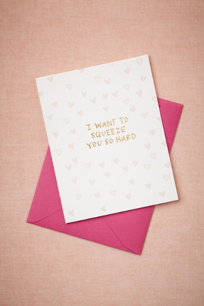 PINK Squeeze You So Hard Card | BHLDN