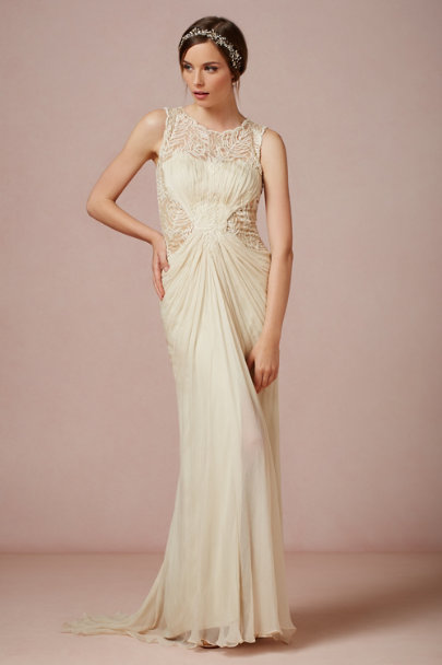 bisque Cypress Gown | BHLDN