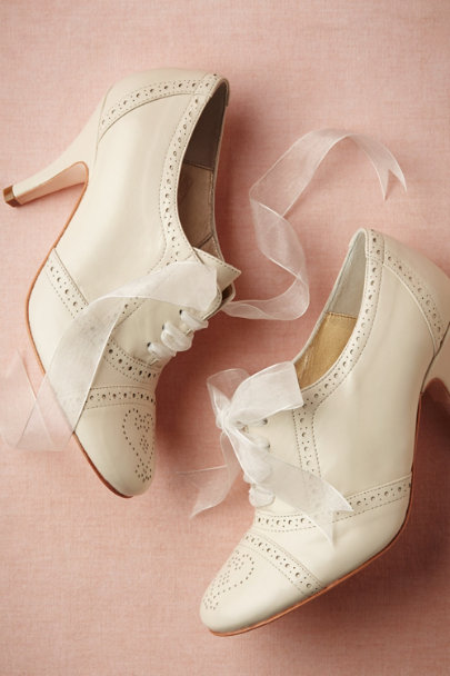 ivory Olivia Oxfords | BHLDN