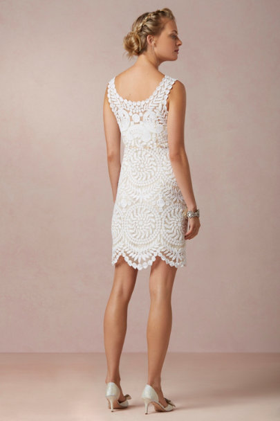 Yoana Baraschi ivory Willa Dress | BHLDN