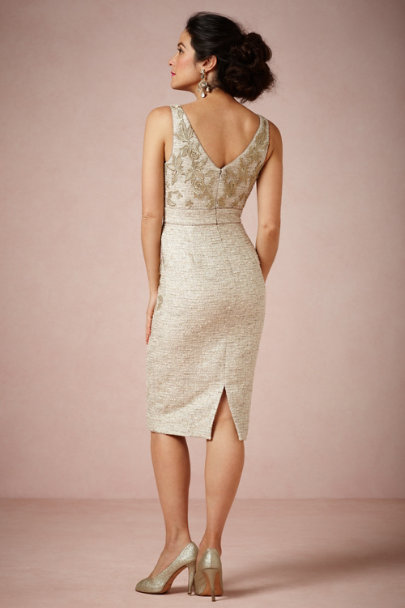 Badgley Mischka silver Twilight Shift | BHLDN