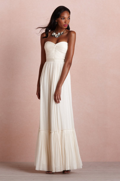 ivory Niceties Dress | BHLDN