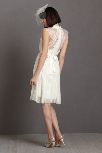 ivory Beams-Of-Light Dress | BHLDN