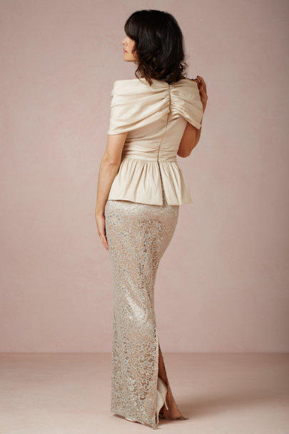 Badgley Mischka gold Mila Dress | BHLDN