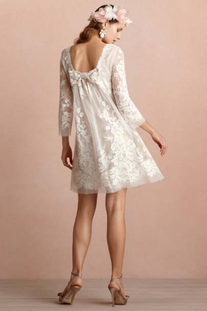 ivory Daisy Doll Dress | BHLDN