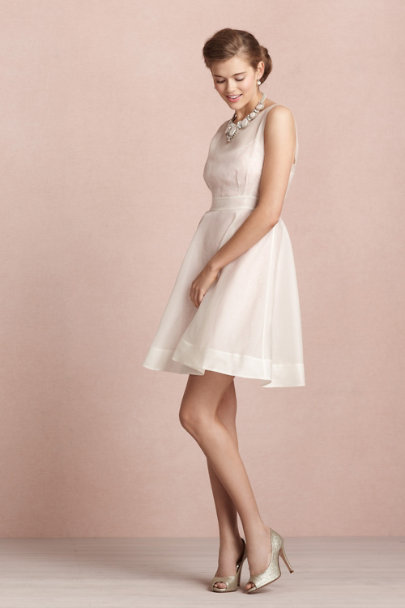 parchment Sequin Stash Dress | BHLDN