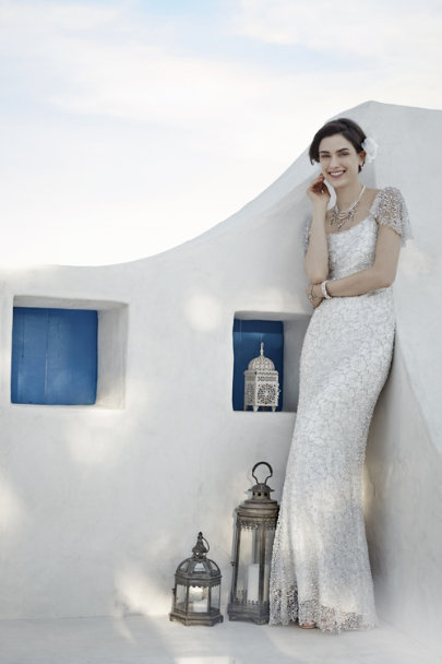 snow Snowflake Gown | BHLDN