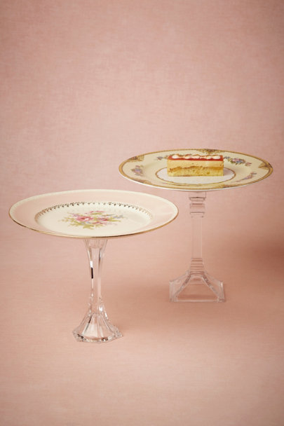 ASSORTED Charming Cake Stand, Medium | BHLDN