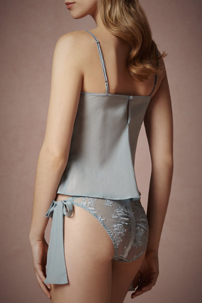 sky Frosted Blue Knickers | BHLDN