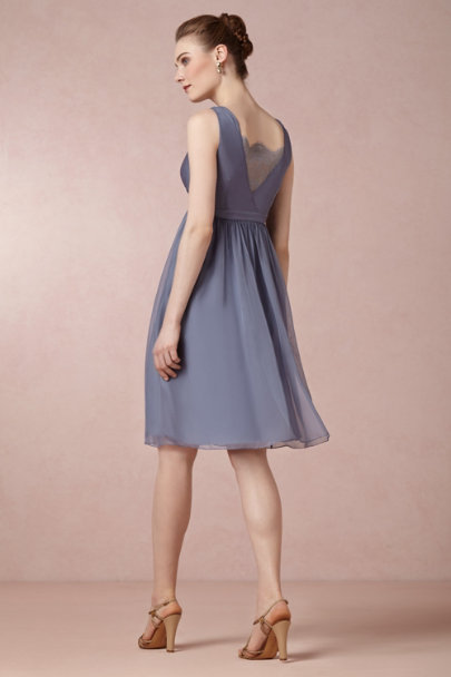 steel blue Rosalie Dress | BHLDN