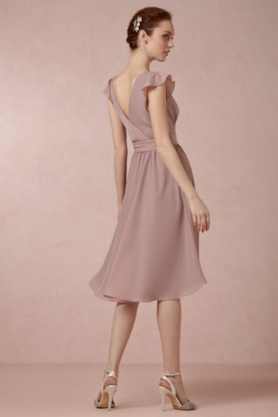dusty MAUVE Sydney Dress | BHLDN