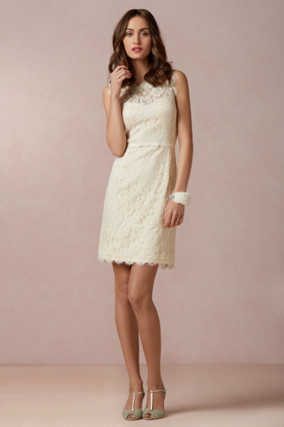 ivory Skylar Sheath | BHLDN