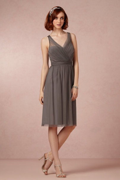 slate grey Tansy Dress | BHLDN