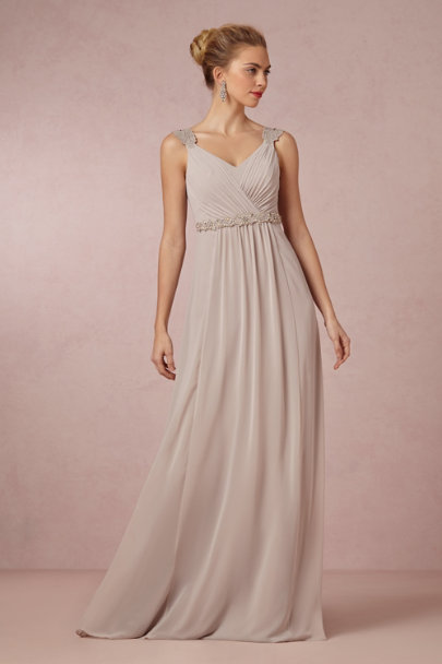 dove grey Freya Maxi Dress | BHLDN