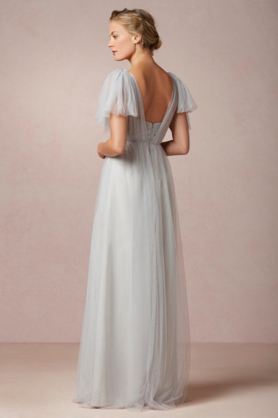 Jenny Yoo Mist Grey Annabelle Dress | BHLDN