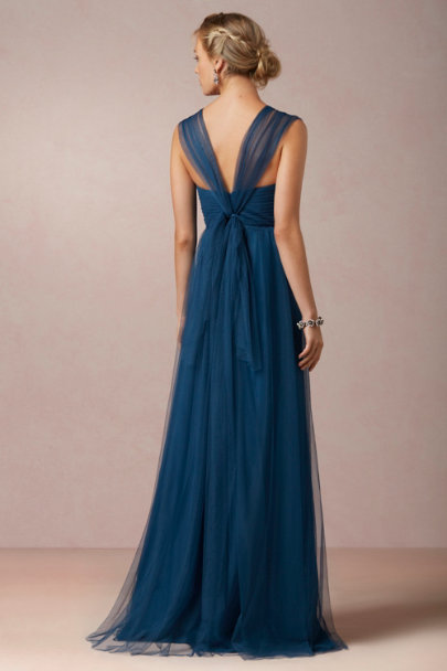 Jenny Yoo lapis blue Annabelle Dress | BHLDN