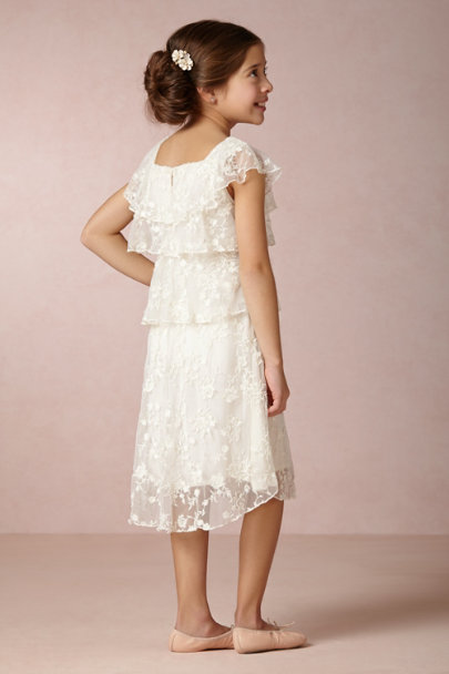 Candela ivory Knox Dress | BHLDN