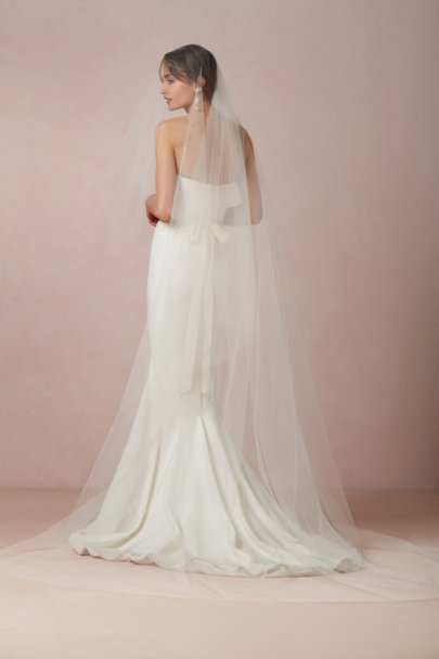 Debra Moreland Ivory Floating Cathedral Veil | BHLDN