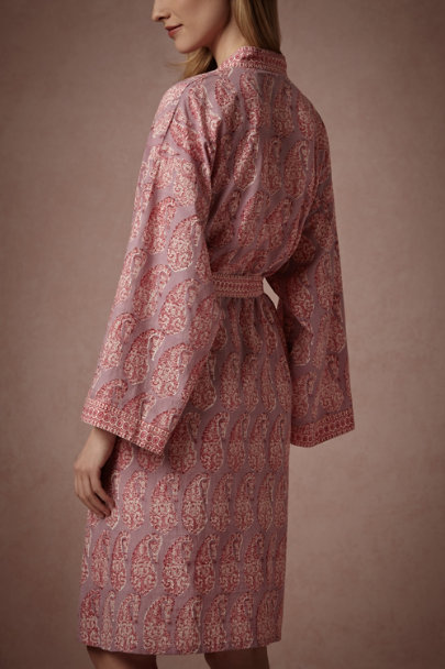 Lavendr Teardrop Clover Robe | BHLDN