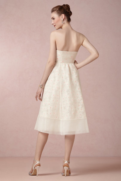 ivory Daisy Dress | BHLDN