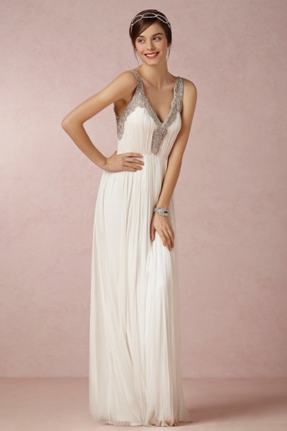 ivory Tia Gown | BHLDN