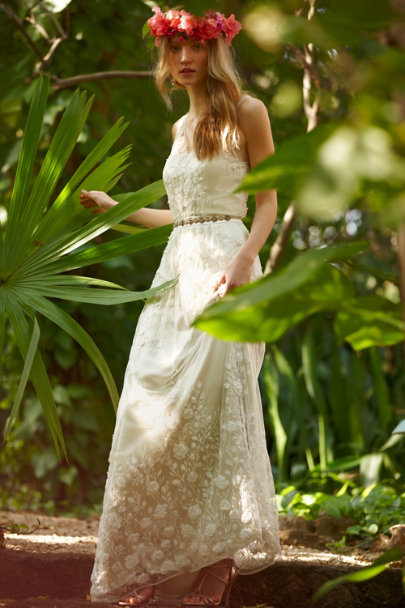Catherine Deane cream Sian Gown | BHLDN