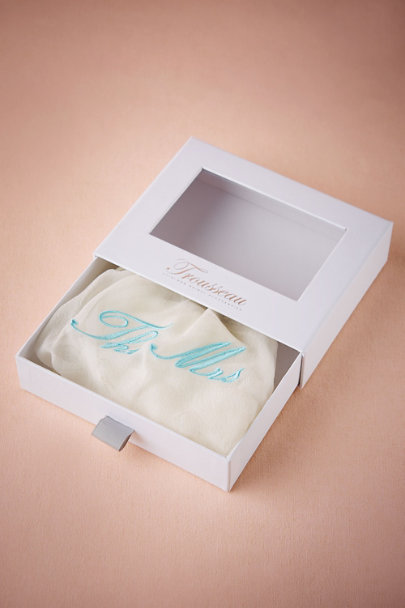 Bridal Trousseau Cream The Mrs. Knickers | BHLDN