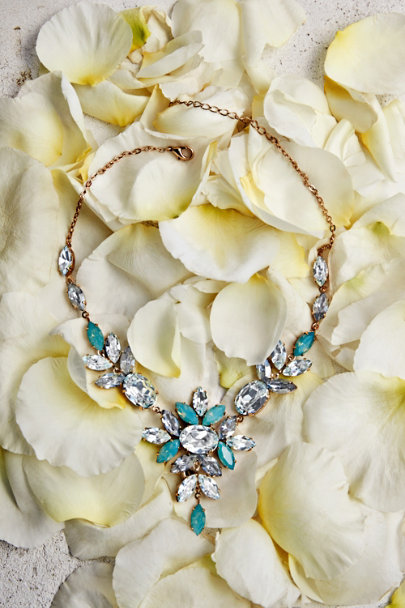 blue Skyfall Necklace | BHLDN
