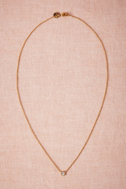 clear Beacon Necklace | BHLDN