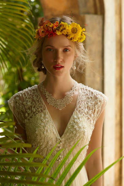 L'Orina ivory Dalloway Necklace | BHLDN
